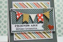 Cards banner / vlaggetjes