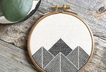 Embroidery / Modern Embroidery and Cross Stitch