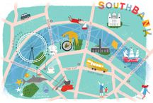 VISIT: LONDON / Maps and illustrations of the Big Smoke – plus places to visit in London