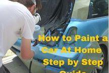 Spray paint and panelbeating