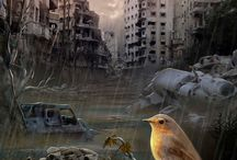 postapocalypse / #art #postapocalypse #stalker