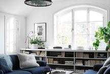 Sitting Room Ideas Blue