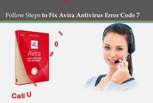 Fix Avira Antivirus Error Code 7 | Call 1800 431 454 Australia