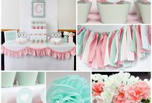 Pink & Mint Baby Shower