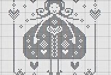 krzyżyki / wzory