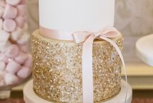 Inspiration Birthday Party / Pink, gold and flowers... trying to get inspired.