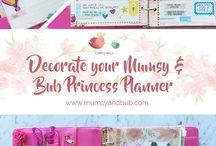Mumsy & Bub Planner Design Ideas