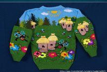 blusa trico natal