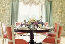 living/dining room love / by Beth Watson