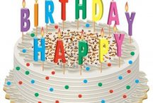 Only Birthday Cakes / Happy Birthday!!!! blow out the candles with a decor cake you love on your birthday. Make a wish first.......