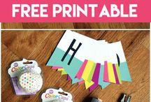 free printables birthday