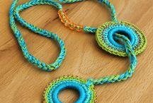 Crochet cotton jewelery inspiratons