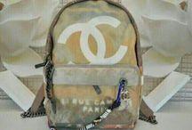 chanel graffiti backpack / Chanel graffiti backpack