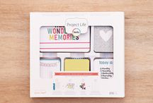 Confetti Edition Project Life / Layouts and ideas using the Confetti edition Project Life Core Kit by Becky Higgins / by Becky Higgins LLC