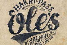 Vintage Typography and Signs