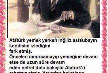 Atatürk ü seviyorum