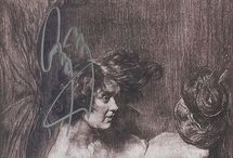 Austin Osman Spare / female figures