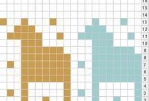 Knitting Charts//Strikkemønstre