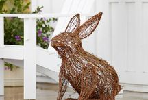 Rabbits in the Garden