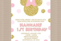 Mietta's 3rd birthday - Minnie mouse