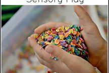 Sensory bins ideas