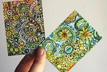 Artist Trading Cards ATC's