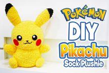 Pikachu socks