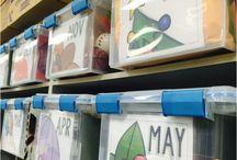 Organizing preschool lesson