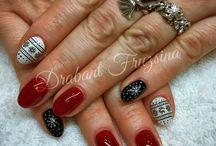 Nails / #nails #nail #műköröm #mukorom #műkörmös #géllakk #gellakk #gellac #nailart #naildesign