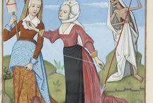 medieval textile patterns