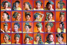 ways to tie head scarfs