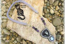 Macica Bead jewelry / https://www.facebook.com/Macicaekszer/