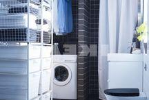 Bathroom laundry