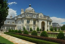 ~Castles to Cribs~ / Home exteriors, some front view, some back view, pools, lofts, mansions and castles. / by Dena McKinney