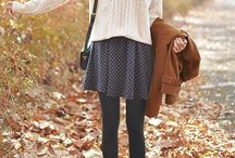 Autumn Looks I like - Short Skirts / Shorts