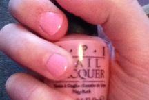 Nailpolish / Creme pink with no shimmer or glitter..all natural baby