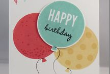 Cards-SU-Birthday / by Jodi Hawn Geers