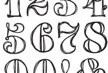 fonts numbers