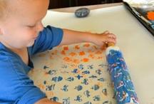 Razítkování / Nápady na doma vyráběné razítka pro malé děti