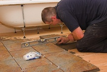 Hard @ Work / Handy hints and tips for carrying out DIY tiling projects in your home