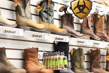 Ariat Boots and Accessories / We carry Ariat Boots and Accessories! Great for work and great for fashion!