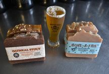 LeCol's Beer Soap / The most popular soap we make infused with natural cleansing power of hops these soaps are made with the popular Boneyard Beer from Bend Oregon