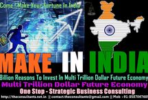 India Market Entry - Strategic Consulting / MAKE IN INDIA –MAKE YOUR FORTUNE IN INDIA India Market Entry- Billion Reasons to Invest In Multi Trillion Dollar Future Global Economic Hub  Strategic Business Consulting For Foreign Firms Business Incorporation to Strategic Planning,Team Building,Business Launching To Establishment Phase Strategic supports  All Under One Roof http://theconsultants.net.in/entry-to-indian-market/