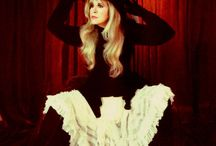 Style-If I had a style / I like flowing dresses and have always loved Stevie Nicks' flowing skirts and dresses!