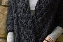 Chunky/Bulky/Aran Knits / Knitwear that inspires wearing a shawl pin.