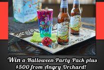 Halloween cider celebration