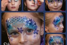 step by step face painting
