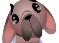 cane emoticons