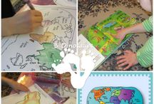 Geography Ideas / Ideas and Resources for Teaching Geography to children! / by ABC Creative Learning