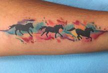 Tetování Koně